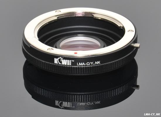 KIWI adaptér objektivu Yashica/Contax na tělo Nikon