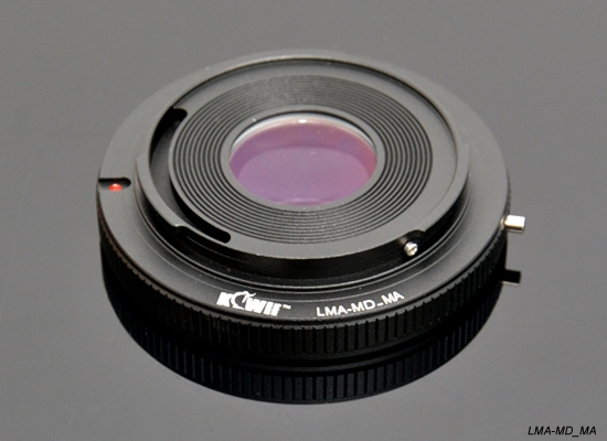 KIWI adaptér objektivu Minolta MD na tělo Sony A