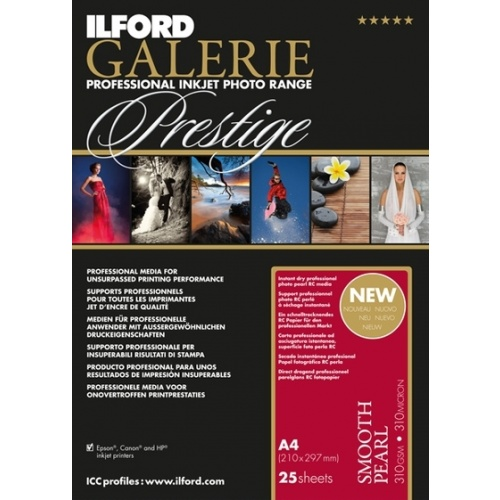 ILFORD inkjet 310g Smooth Pearl Paper A4/25 ks