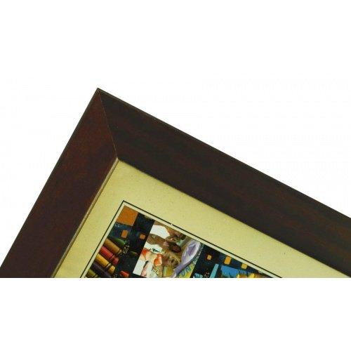 CODEX SLS rám 20x30 dřevo, tmavě hnědá 010