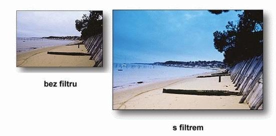 COKIN filtr Z123 graduál modrý B2