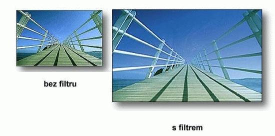 COKIN filtr Z123S graduál modrý soft