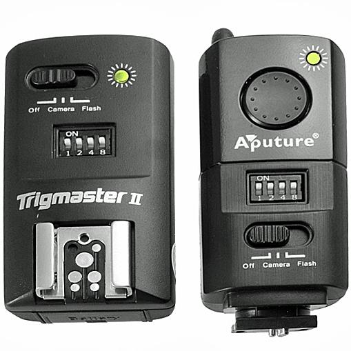 APUTURE spoušť rádiová foto/blesk TrigMaster MXII-N pro Nikon - 2,4GHz