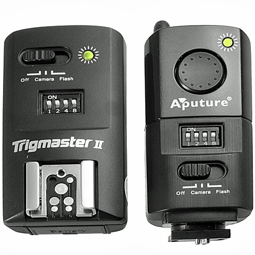 APUTURE spoušť rádiová foto/blesk TrigMaster MXII-P pro Pentax - 2,4GHz