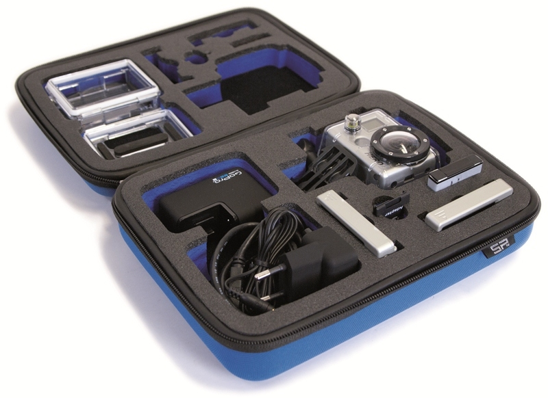 SP GADGETS Case Small blue - pouzdro pro GoPro