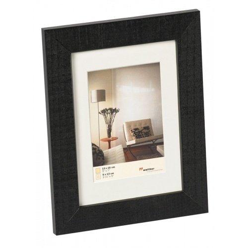 WALTHER HOME 13x18 dřevo, černá