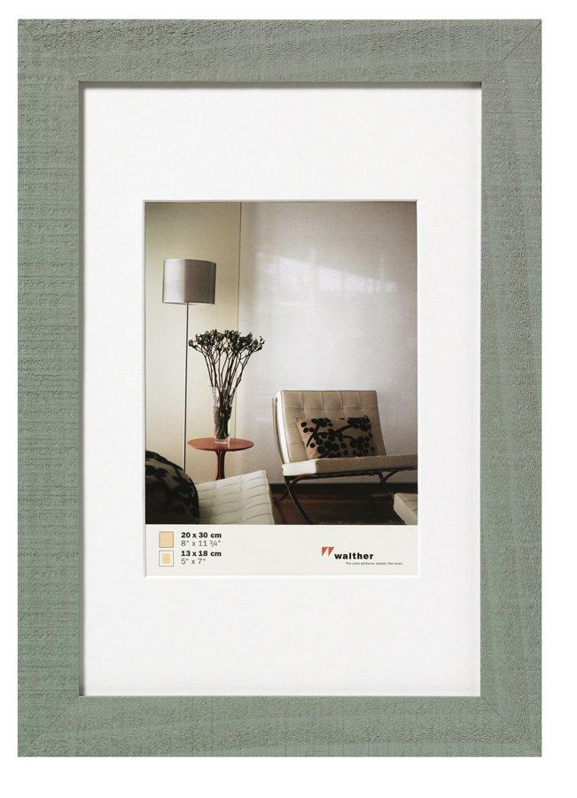 WALTHER HOME 13x18 dřevo, šedá