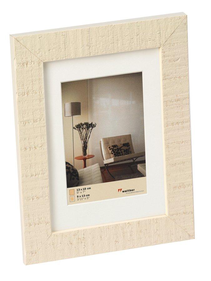 WALTHER HOME 13x18 dřevo, bílá