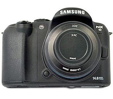 JJC sluneční clona LH-J30NB pro Samsung 30 mm/2 NX