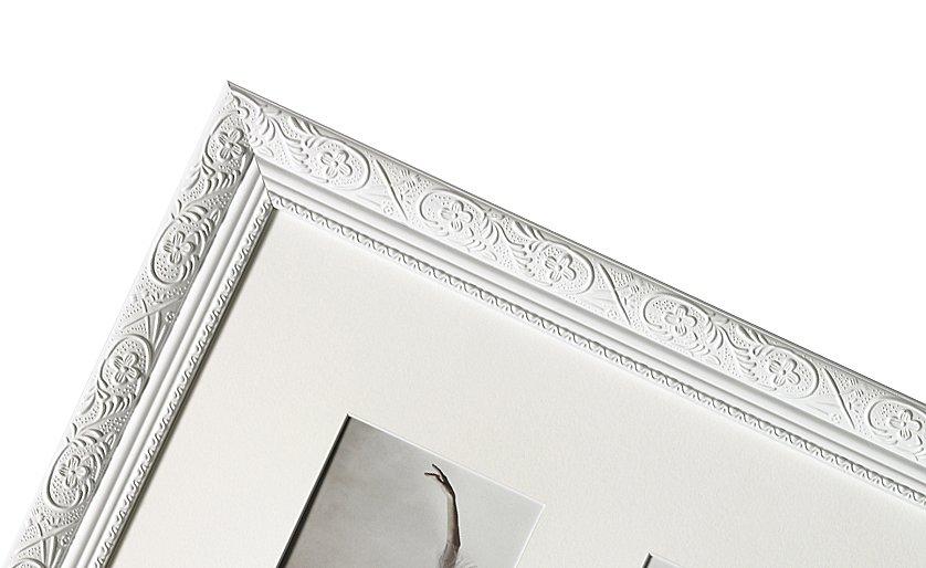 WALTHER BAROCK portrétní rám 13x18, dřevo, bílá
