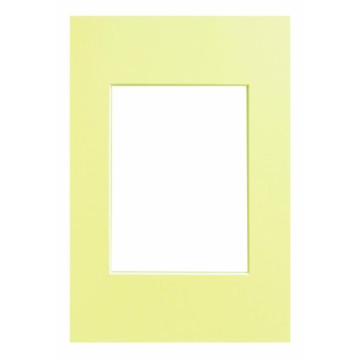 WALTHER - pasparta 40x50/30x40 světle žlutá
