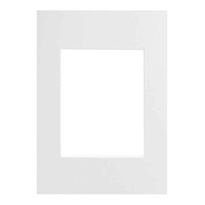 WALTHER - pasparta 40x50/30x40 bílá