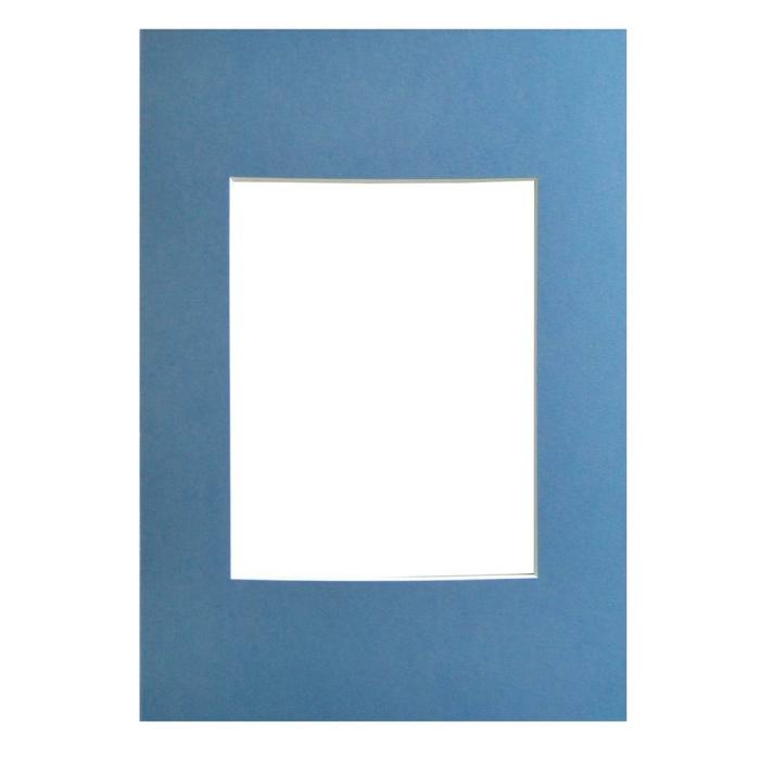 WALTHER - pasparta 40x50/30x40 světle modrá