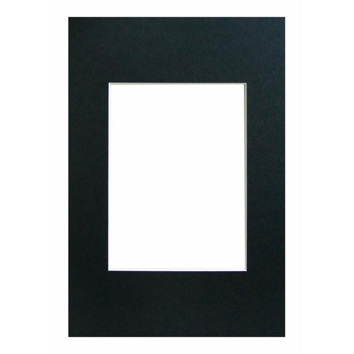 WALTHER - pasparta 40x50/30x40 černá