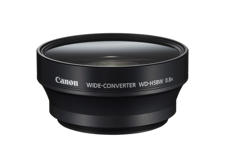 CANON WD-H58W pro HFG10
