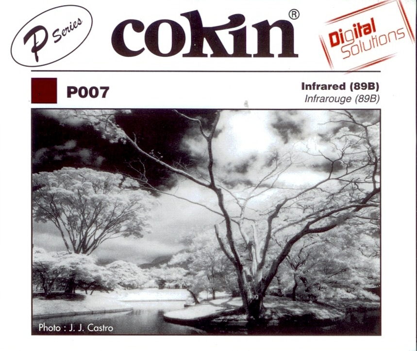 COKIN filtr P007 infrared (89B)