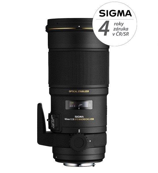 SIGMA 180 mm f/2,8 EX APO DG OS HSM Macro pro Nikon F