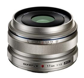 OLYMPUS M.Zuiko Digital ED 17/1,8 stříbrný