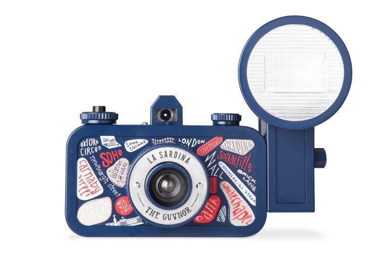 LOMOGRAPHY La Sardina camera & Flash - Guvnor