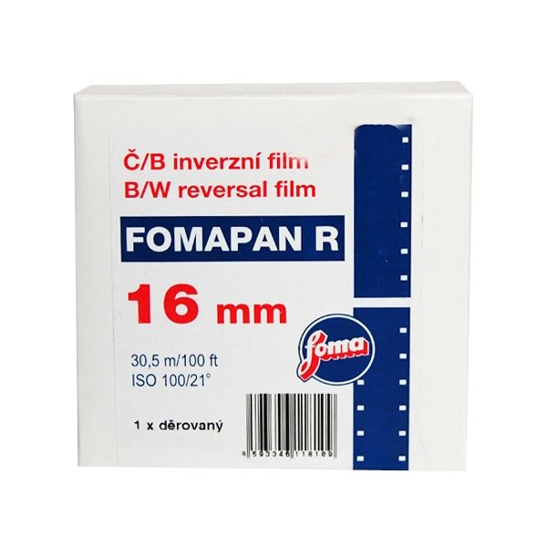 FOMAPAN R 100 16 mm/30,5 m 1x perforace