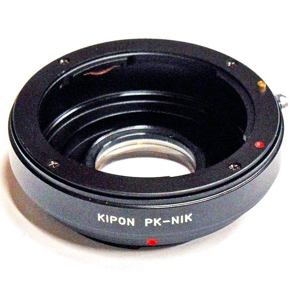 KIPON adaptér objektivu Pentax K na tělo Nikon