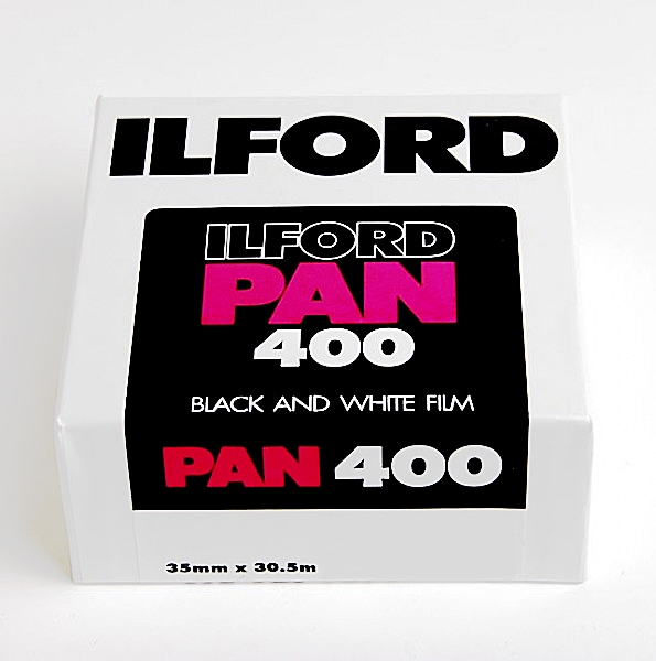 ILFORD Pan 400/metráž 30,5m
