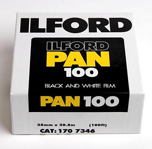 ILFORD Pan 100/metráž 30,5 m