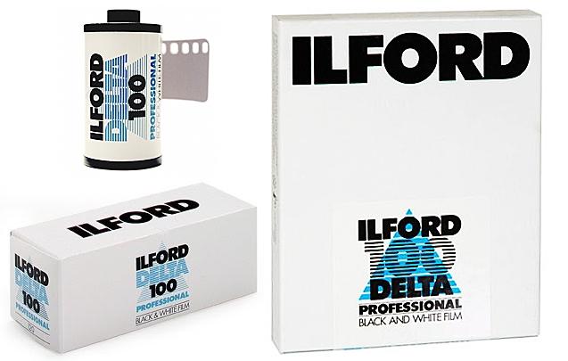 ILFORD Delta 100/3,5x4,75