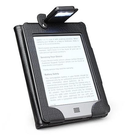 AMAZON Kindle - pouzdro s LED lampičkou pro Touch