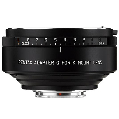 PENTAX adaptér objektivu K na tělo Q