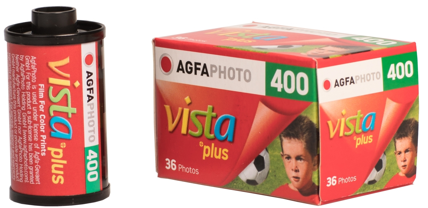 AGFA Vista Plus 400/135-36