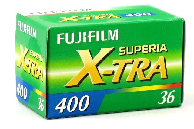 FUJIFILM Superia X-TRA 400/135-36