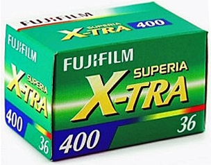 FUJI SUPERIA X-TRA 400/135-36 3 balení