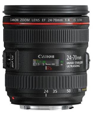 CANON EF 24-70 mm f/4 L IS USM + Cashback 5500 Kč