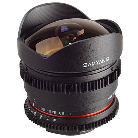SAMYANG 8 mm T3,8 VDSLR II UMC Fish-eye CS pro Canon EOS (APS-C)