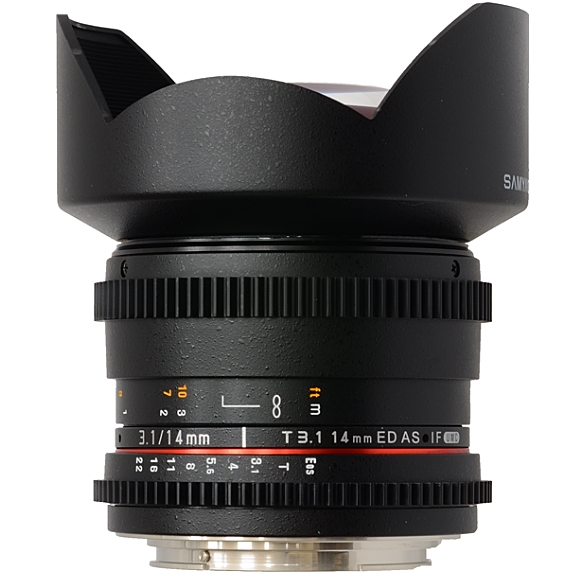 SAMYANG 14 mm T3,1 ED AS IF UMC II pro Canon