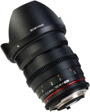 SAMYANG 24 mm T1,5 VDSLR II ED AS IF UMC pro Canon EOS