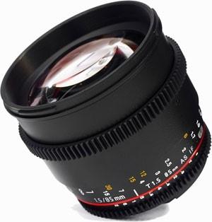 SAMYANG 85 mm T1,5 AS IF MC pro Nikon