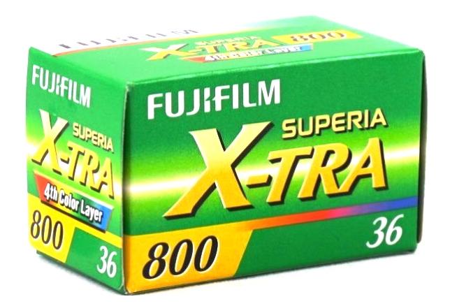 FUJI SUPERIA X-TRA 800/135-36