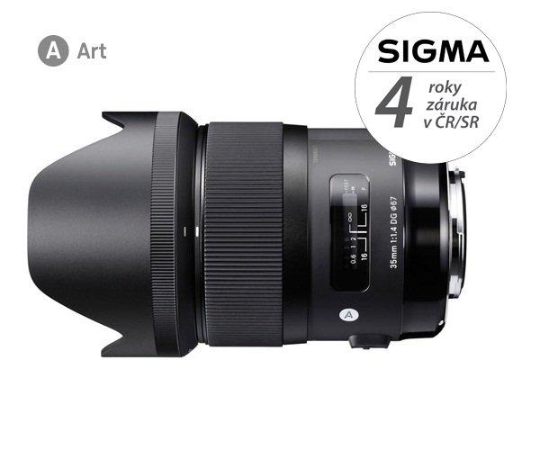 SIGMA 35 mm f/1,4 DG HSM Art pro Pentax