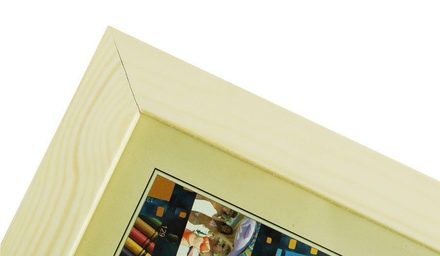 CODEX SLS rám 9x13 dřevo, slonová kost 003