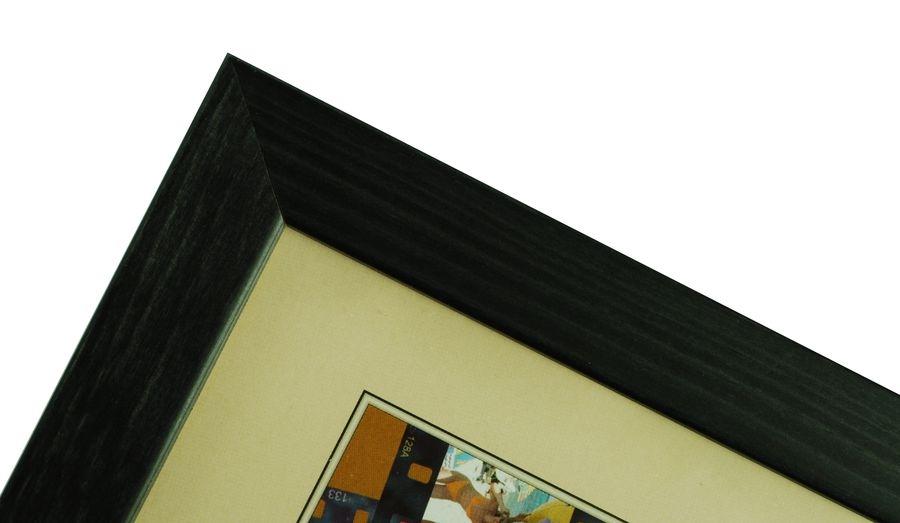 CODEX SLS rám 9x13 dřevo, černá 009