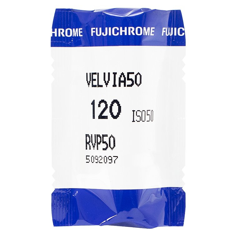 FUJIFILM Velvia 50/120