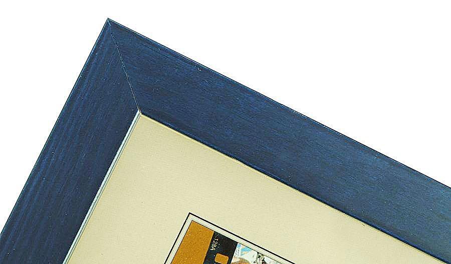 CODEX SLS rám 9x13 dřevo, modrá 008