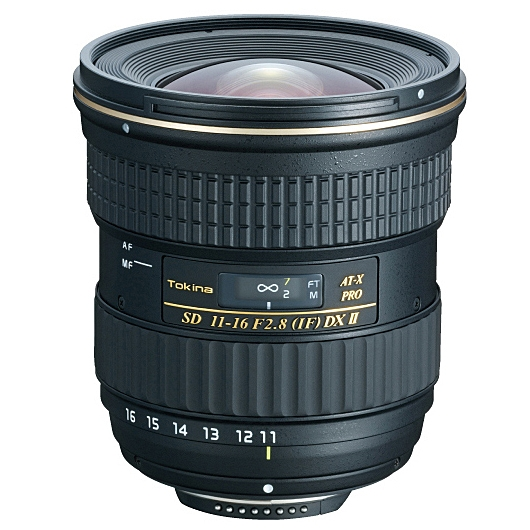TOKINA 11-16 mm f/2,8 AT-X SD PRO IF DX II pro Canon