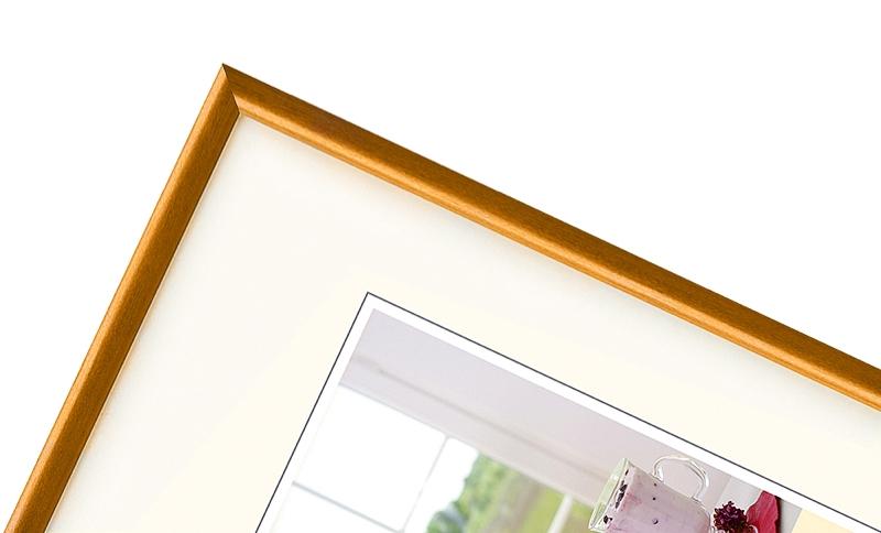 WALTHER MERAN rám 9x13 dřevo, okrová