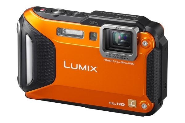 PANASONIC Lumix DMC-FT5 oranžový
