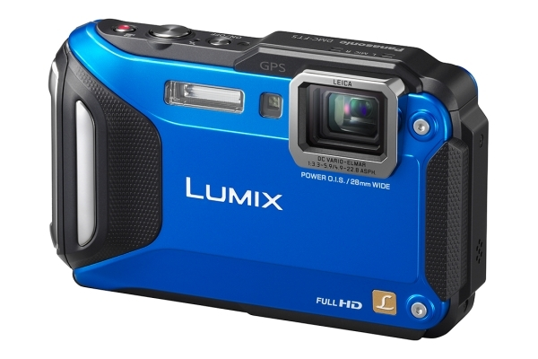 PANASONIC Lumix DMC-FT5 modrý