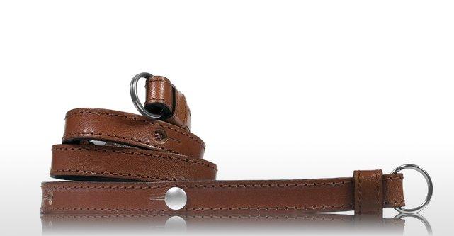 LEICA řemínek kožený pro M - ecological tanned cognac 14454