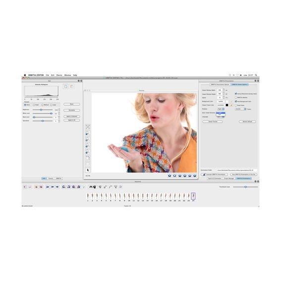 ORBITVU EDITOR edice FOTOGRAF, licence pro 1 stanici s viewerem RF